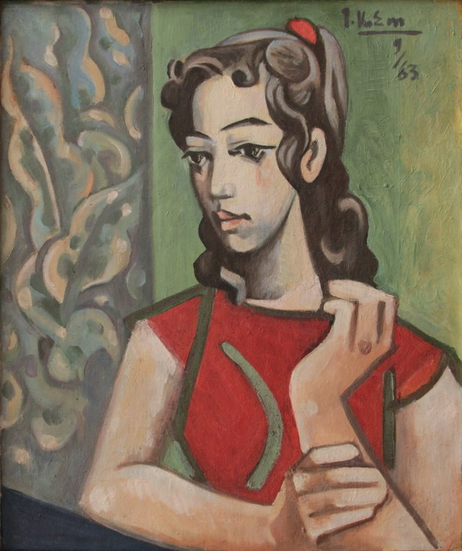 Portrait of a Student, 1963